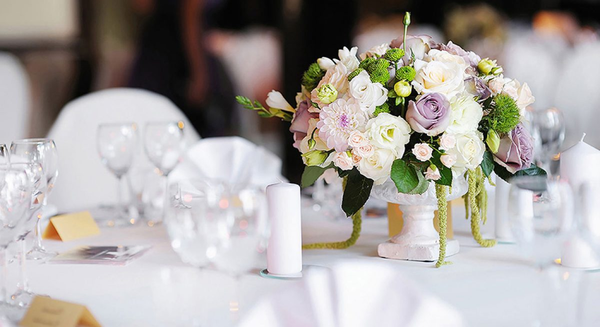 Table-fleurie